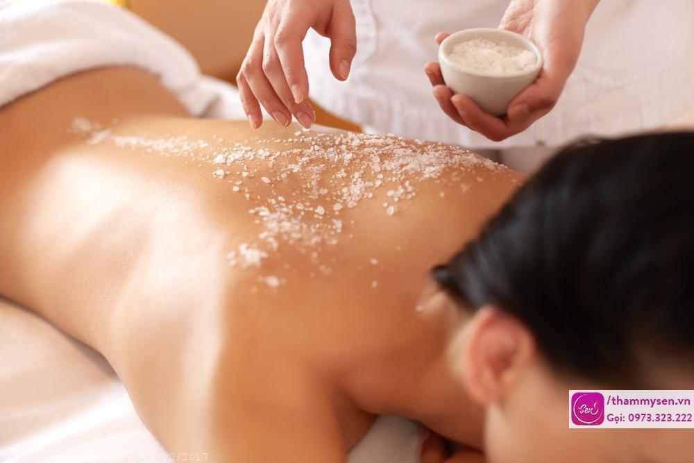 Massage body đá nóng, Thẩm mỹ Sen