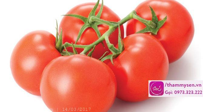 Cách triệt lông bằng cà chua