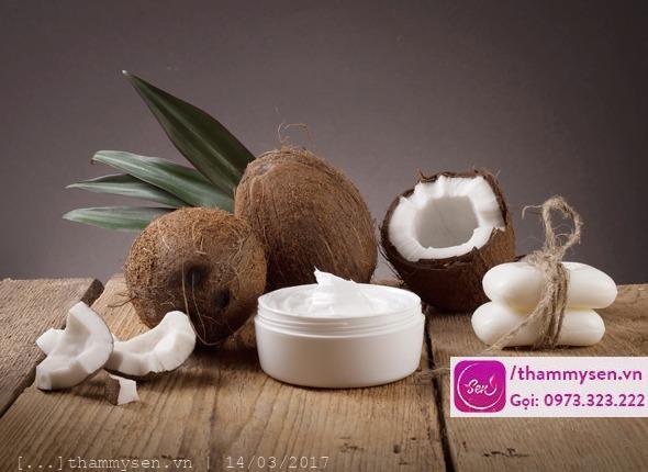 Cách triệt lông bằng dầu dừa