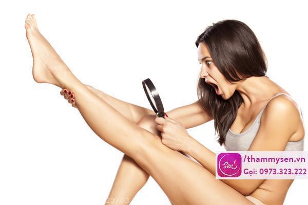 Tẩy lông chân tự nhiên hiệu quả tại nhà