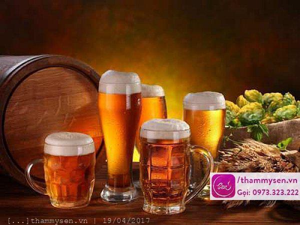 Cách trị mụn nhanh nhất với bia tươi