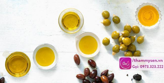 dầu oliu làm trắng da