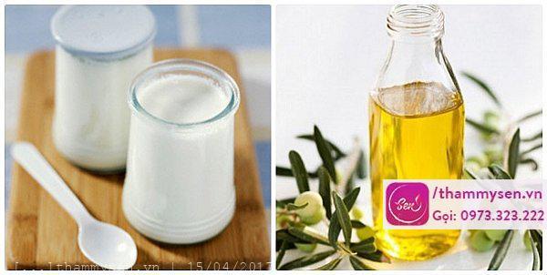 Tắm trắng toàn thân bằng dầu oliu