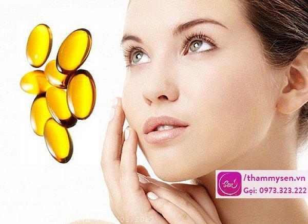 Trị vết thâm mụn cấp tốc bằng vitamin E