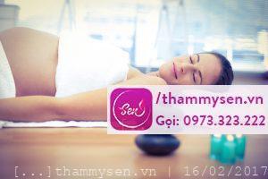 Massage bà bầu – liệu pháp tuyệt vời cho sức khỏe thai phụ