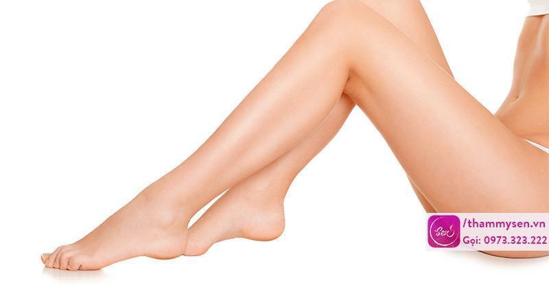 Làm thế nào để tẩy lông chân