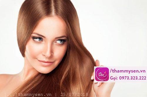 phục hồi tóc yếu bằng công nghệ Laser, Thẩm mỹ Sen