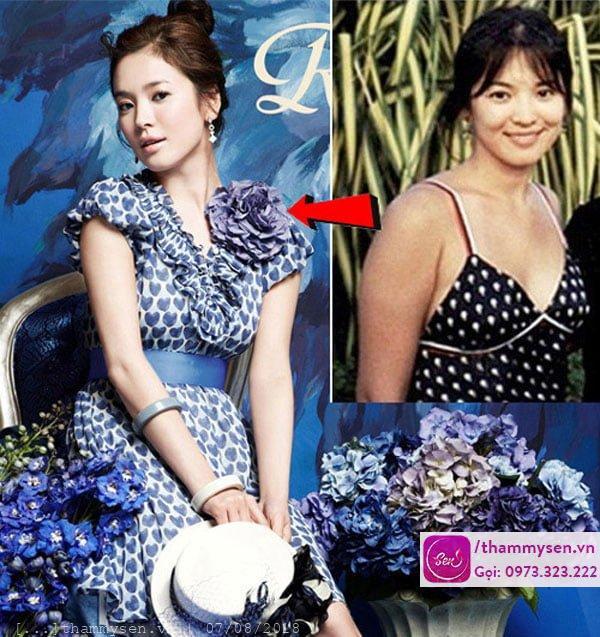 Song Hye Kyo - uống nước lọc