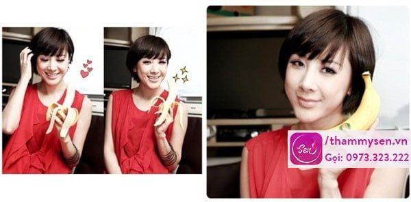 Seo In Young – ăn kiêng với chuối