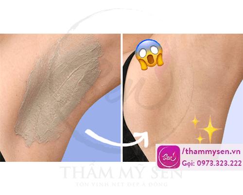 Tẩy da chết và chăm sóc da vùng nách cũng cho kết quả rất tốt