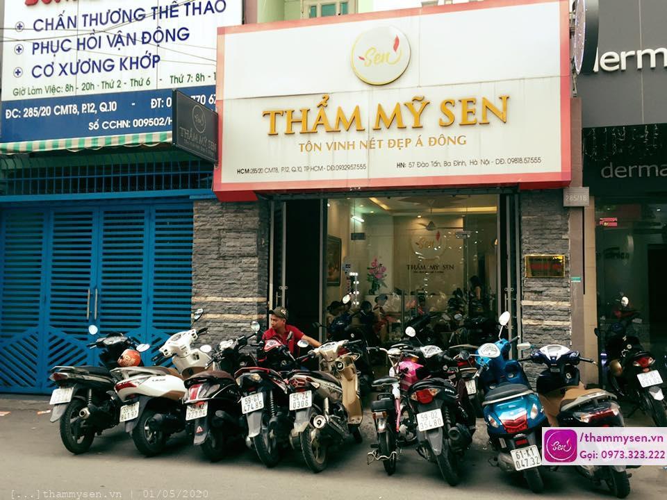 Khách hàng điều trị sẹo thâm bằng laser tại Hồ Chí Minh